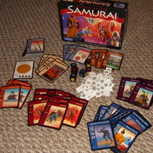 Honor Of The Samurai Card Game