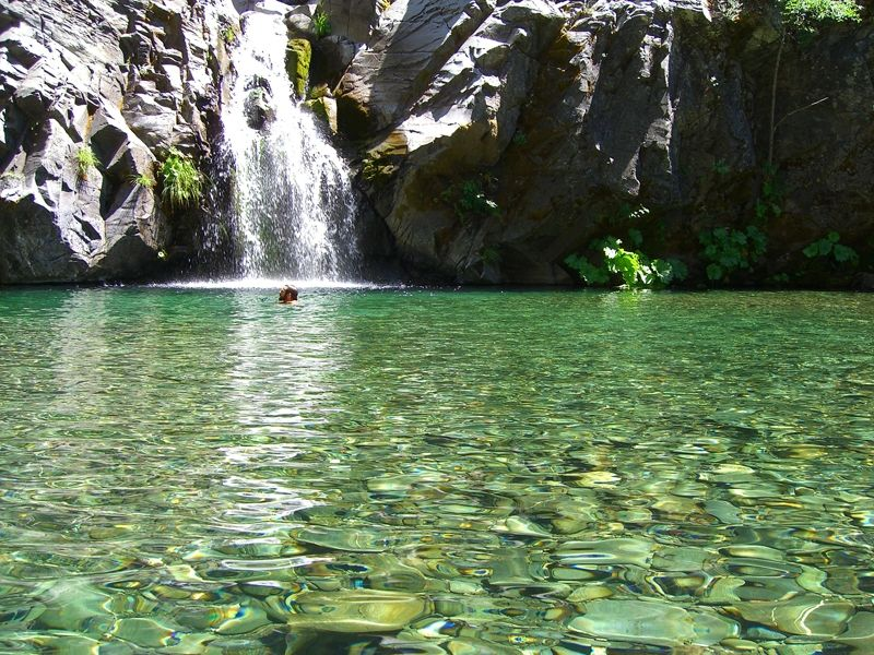 Eel River Hiking And Swimming