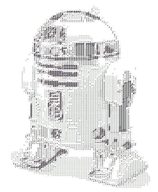Line Art Generator : Ascii art