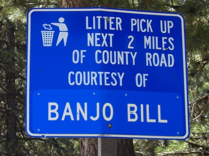 Highway Litter Pickup